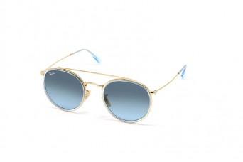 Солнцезащитные очки Ray-Ban Round Double Bridge RB 3647N 9123/3M